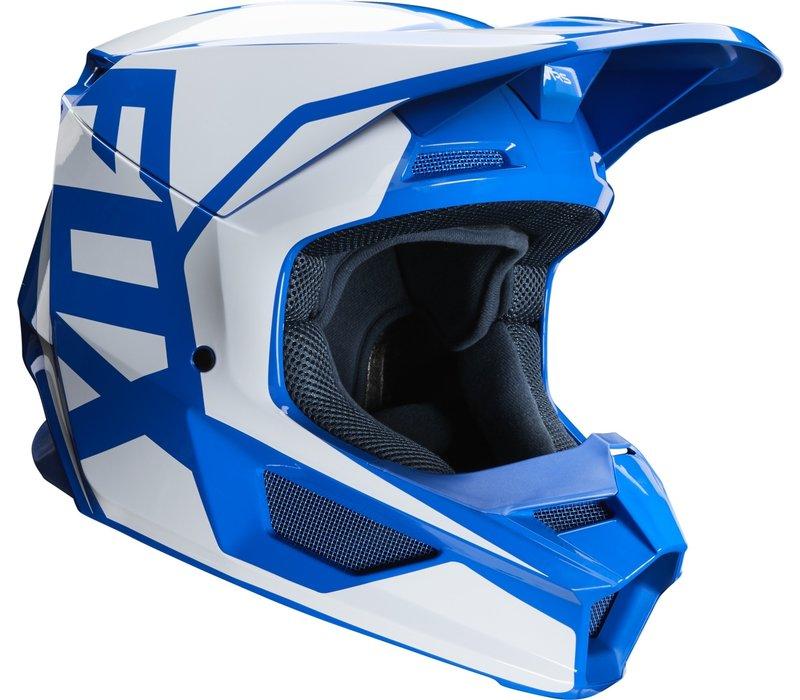 Fox V1 Prix Cross helmet Blue