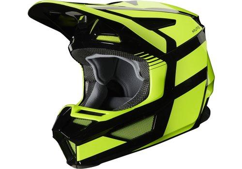 Fox V2 Hayl Yellow Fluo Helmet