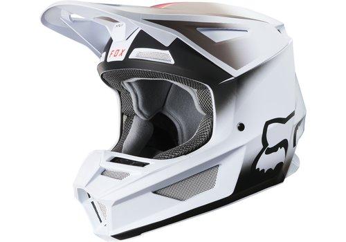 Fox V2 Vlar White Helmet