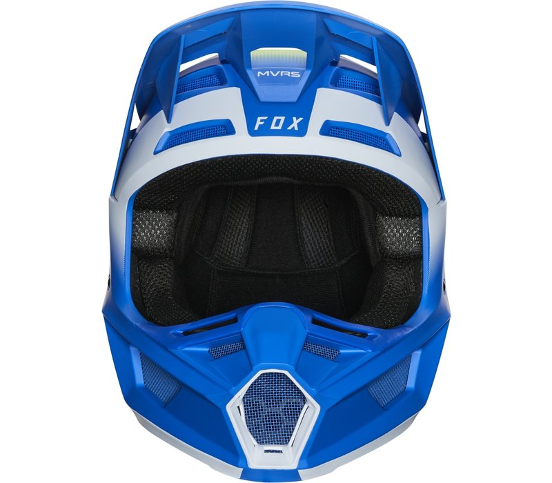 Fox V2 Vlar Cross helmet Blue