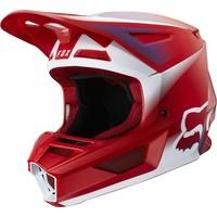 Fox V2 Vlar Cross helmet Flame Red