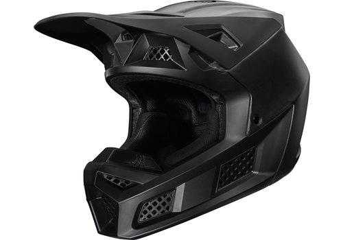 Fox V3 Solids Matt Black Helmet