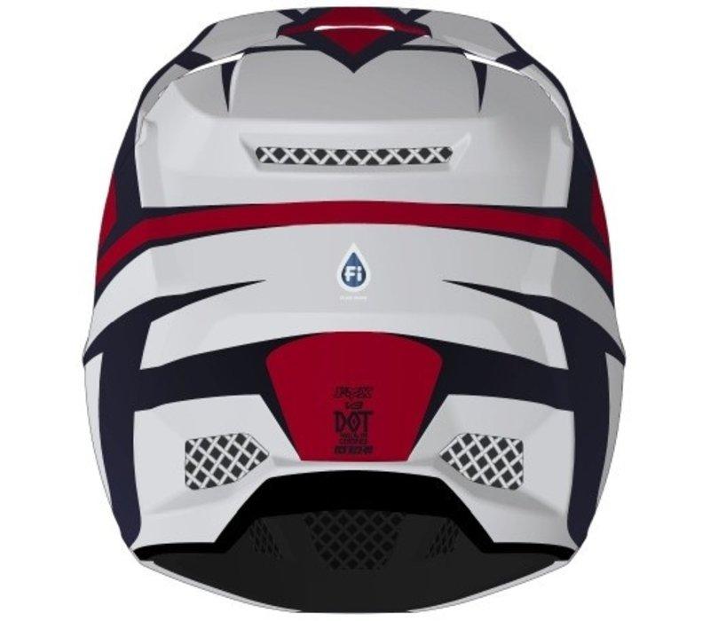 Fox V3 Idol Cross helmet Light Grey