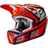 Fox Fox V3 Idol Cross helmet Orange Blue