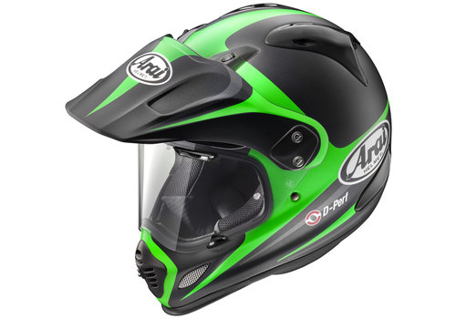 Arai Tour-X4 Route Green Helmet