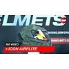 ICON Casco Icon Airflite Battlescar 2 360 Video