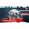 ICON Casco Icon Airflite Pleasure Dome 3 360 Video