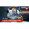 ICON Icon Airframe Pro Lucky Lid 3 Helmet 360 Video