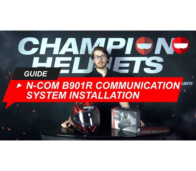 How to install the N-Com B901R communication system