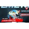 ICON Icon Airflite Freedom Spıtter Helmet 360 Video