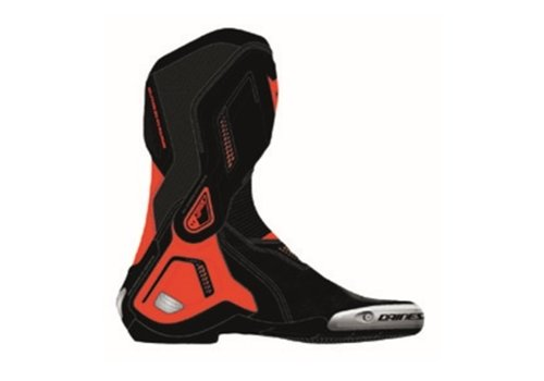 Dainese Torque 3 Out Shoes Black Fluo Red