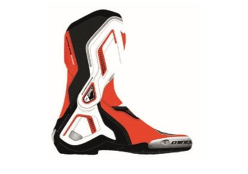 Dainese Torque 3 Out Shoes Black White Lava Red