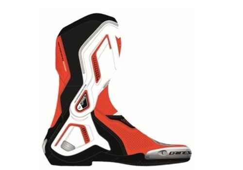 Dainese Torque 3 Air Shoes Black White Lava Red