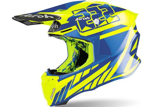 Airoh Twist 2.0 Cairoli Replica Yellow Gloss Helmet