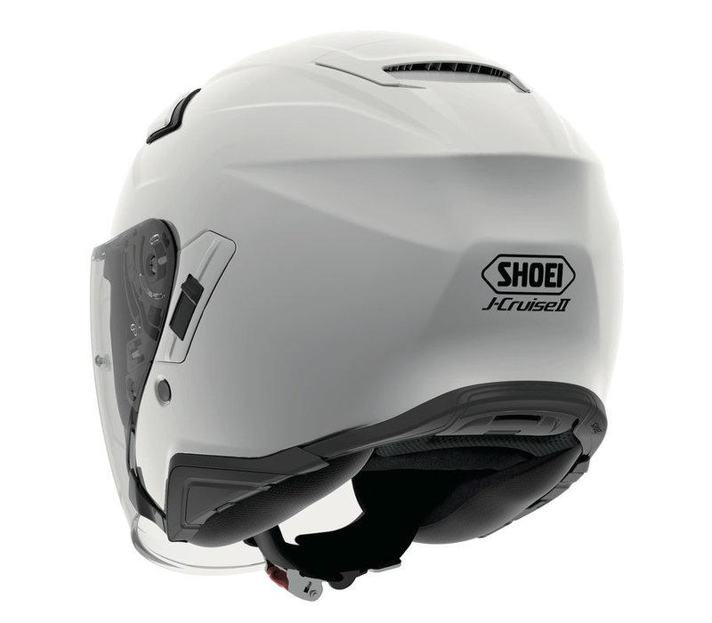 Shoei J-Cruise 2 Wit Helm Kopen? + 50% korting op een Extra Vizier!