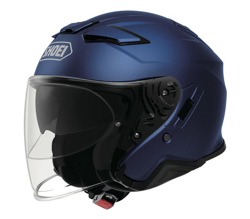 Buy Shoei J-Cruise 2 Matt Blue Helmet? Free Additional Visor!