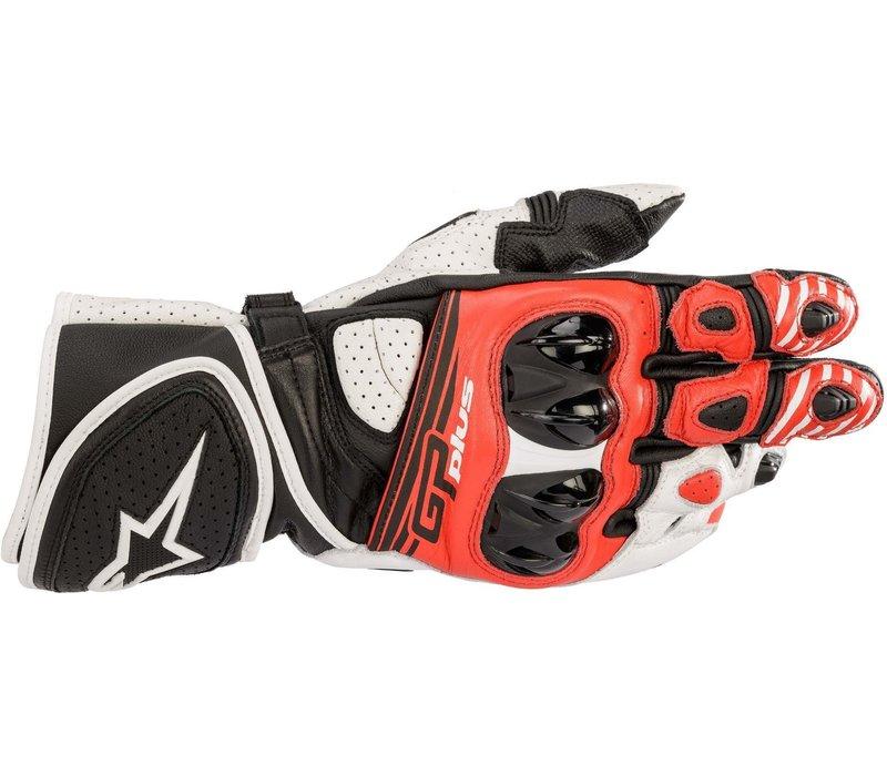 Alpinestars GP Plus R V2 Handschuhe Schwarz Weiss Rot