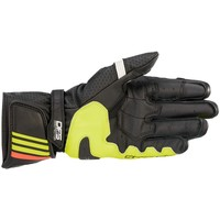 Alpinestars GP Plus R V2 Handschuhe Schwarz Gelb Rot