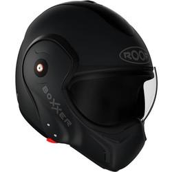 ROOF ROOF Boxxer Fiberglass Systeem Helm Mat Zwart + 50% korting op een Extra Vizier!