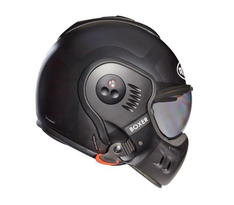 Roof Boxer V8 Bond Matt Titan Schwarz Helm + 50% Rabatt auf ein Extra Visier!