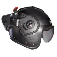 Roof Boxer V8 Bond Matt Titan Black Helm + 50% korting op een Extra Vizier!