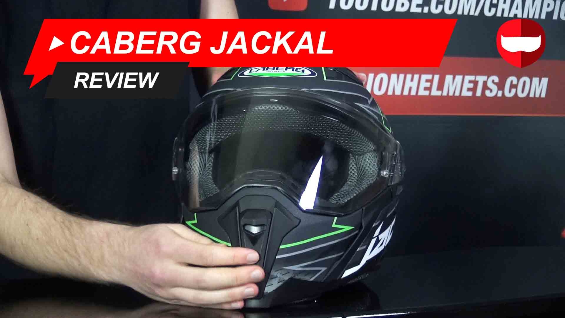 Caberg Jackal Full Face Helmet Review and Video