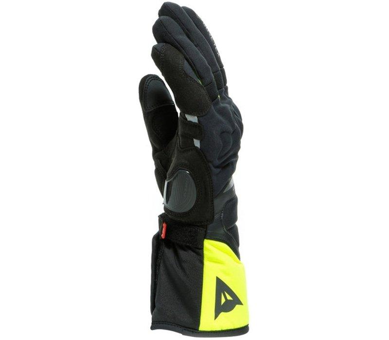 Dainese Nembo Gore-Tex Handschuhe Schwarz Fluo Gelb