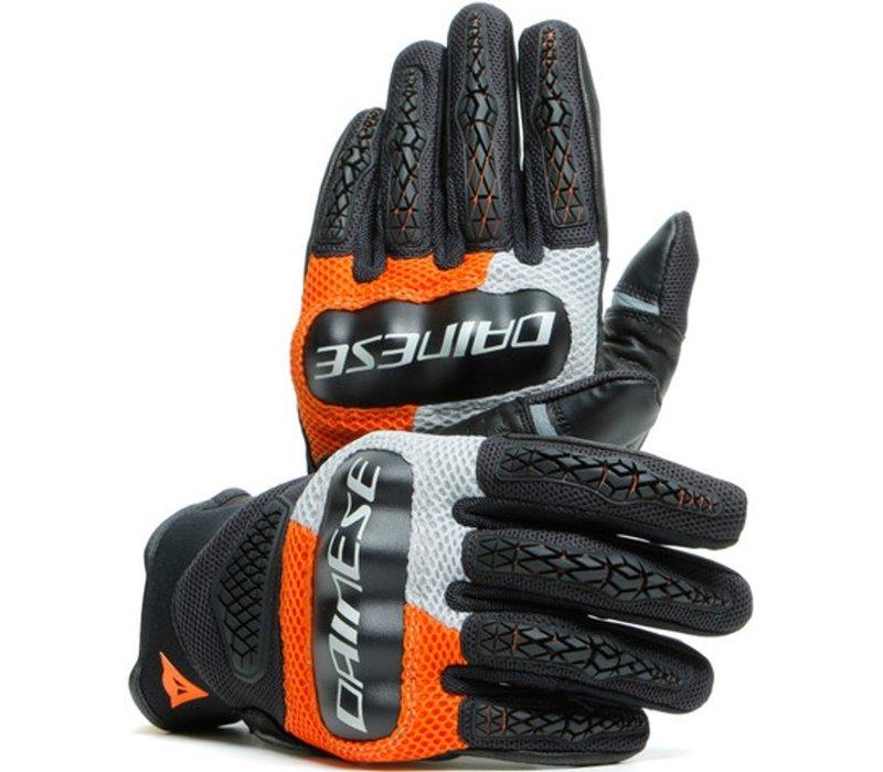 Dainese D-explorer 2 Handschuhe Grau Orange Schwarz