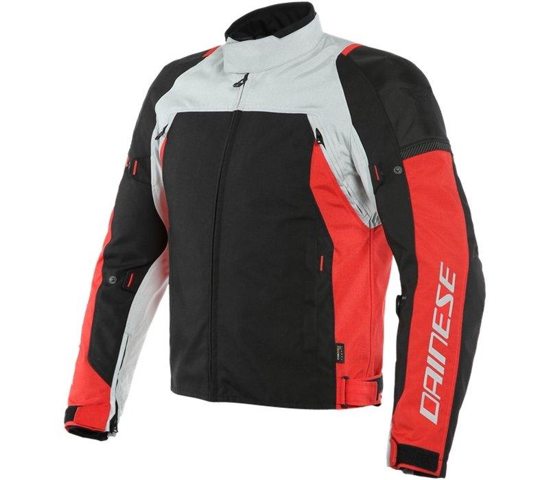 Dainese Speed Master D-Dry Jacke Grau Rot Schwarz