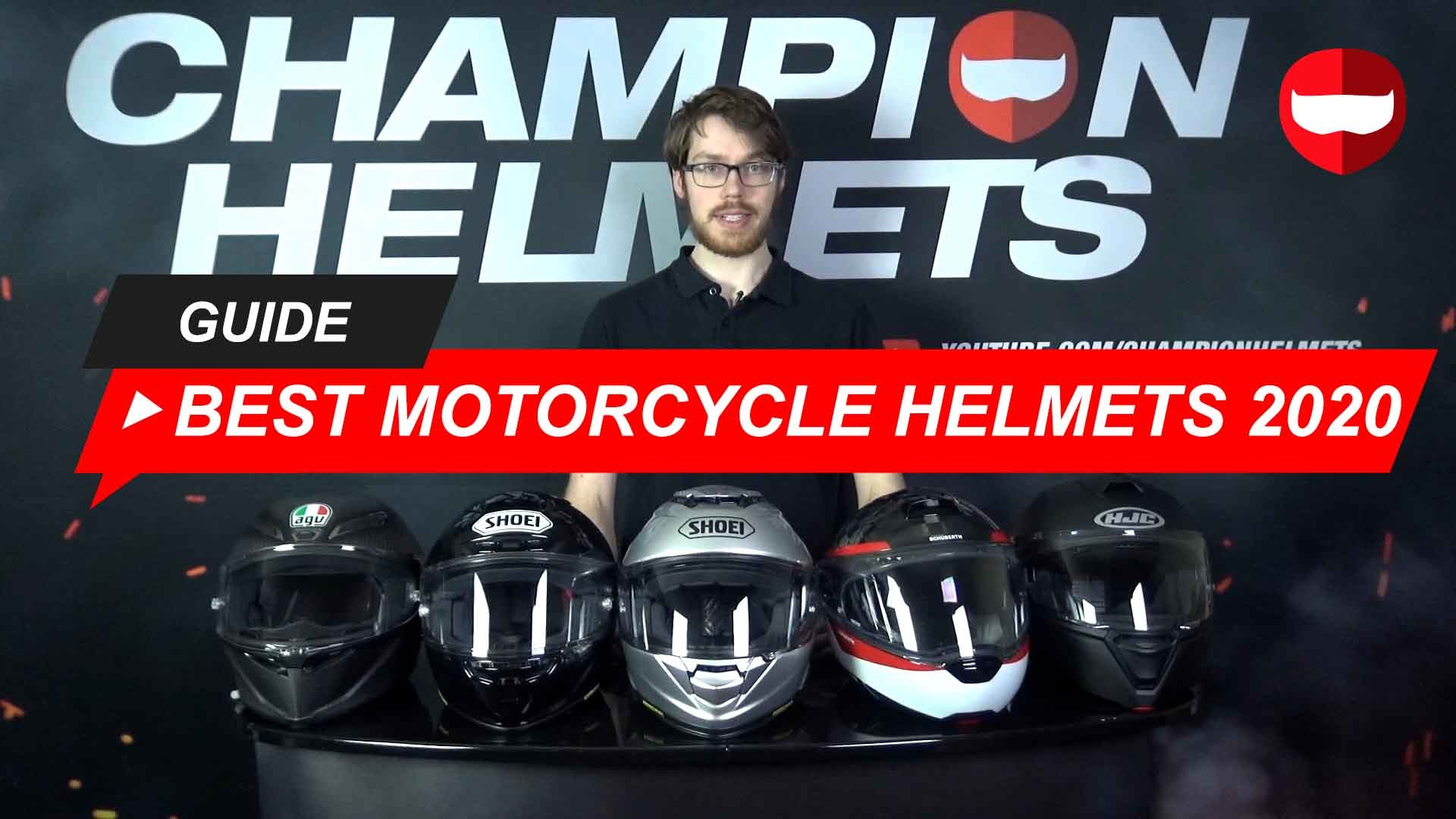 Best Motorcycle Helmets 2020  Road Tested  and Video