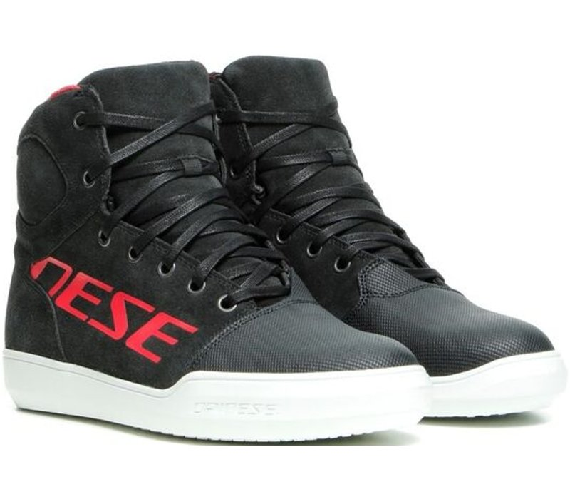 Dainese York D-WP Shoes Black Red