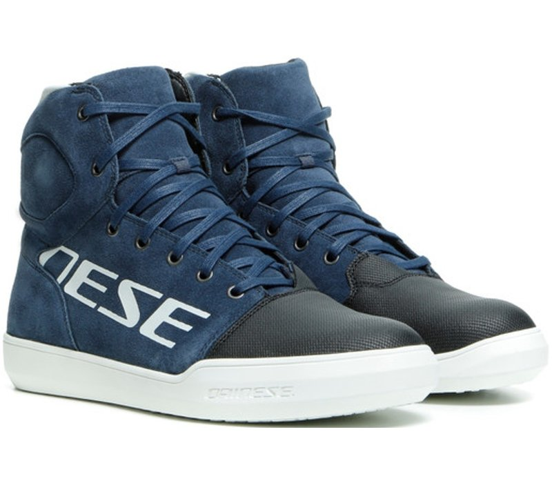 Dainese York D-WP Shoes Blue White