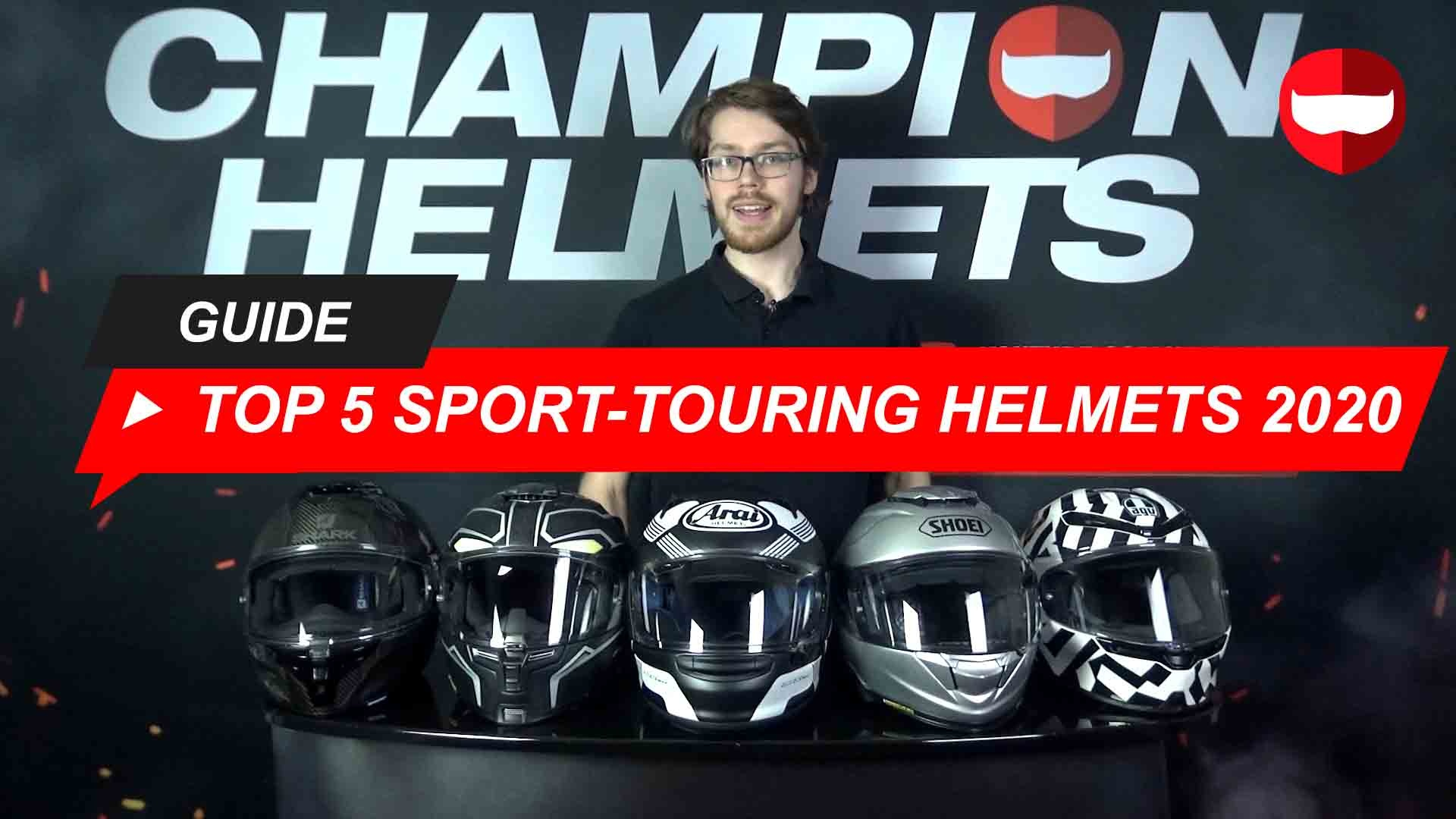 Top 5 Sport-Touring Full-Face Helmets 2020 Road Tested