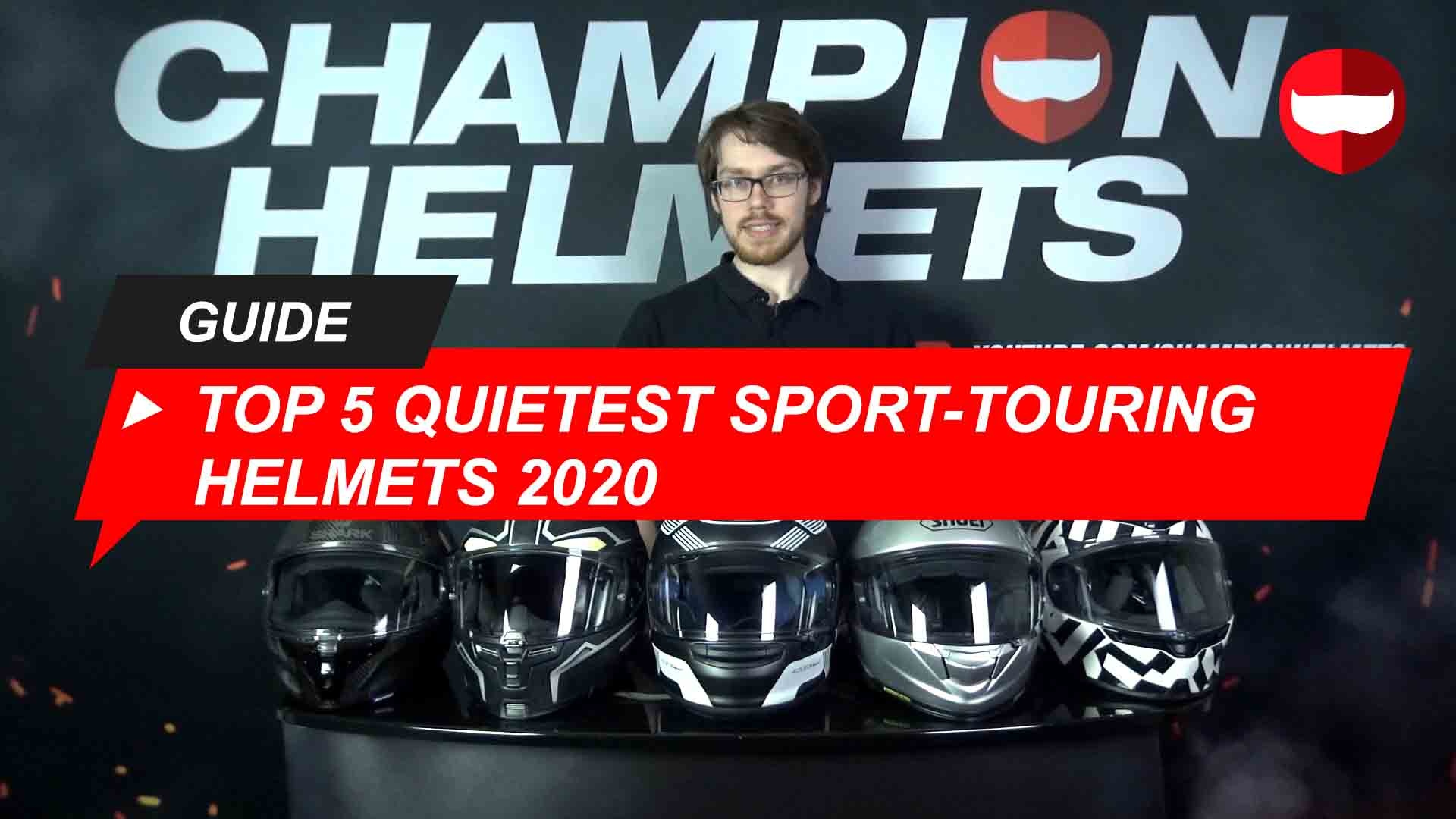 Top 5 Quietest Sport-Touring Helmets 2020 Road Tested with Video