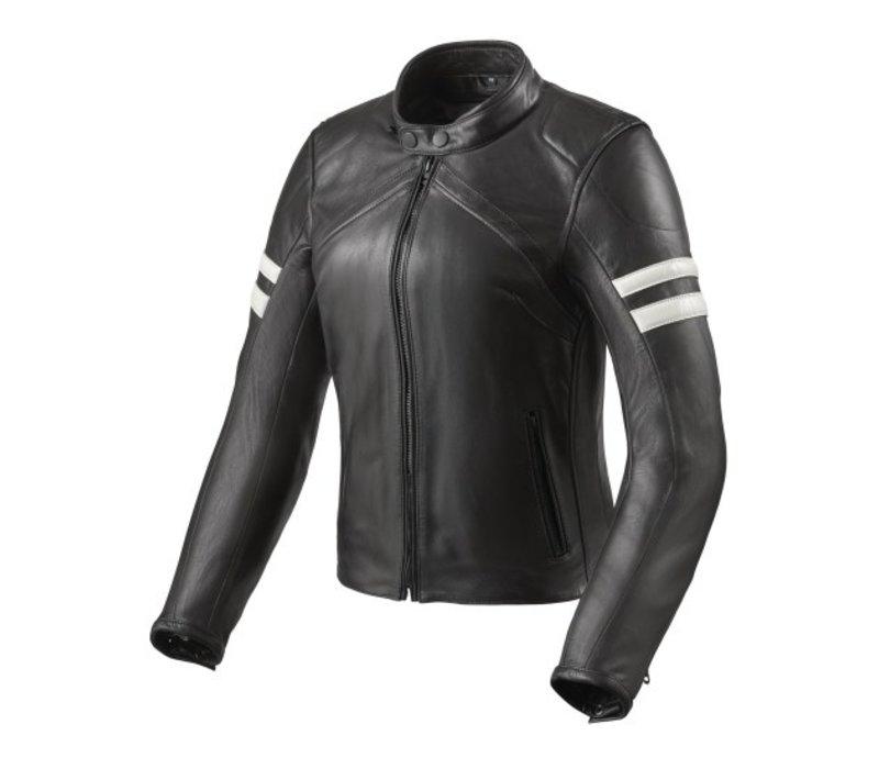 Buy Revit Meridian Ladies Jacket Black White? Free Shipping!