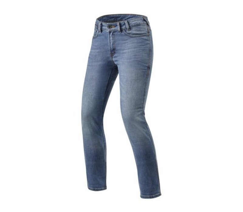 Buy Revit Victoria Ladies SF Jeans Classic Blue? Free Shipping!