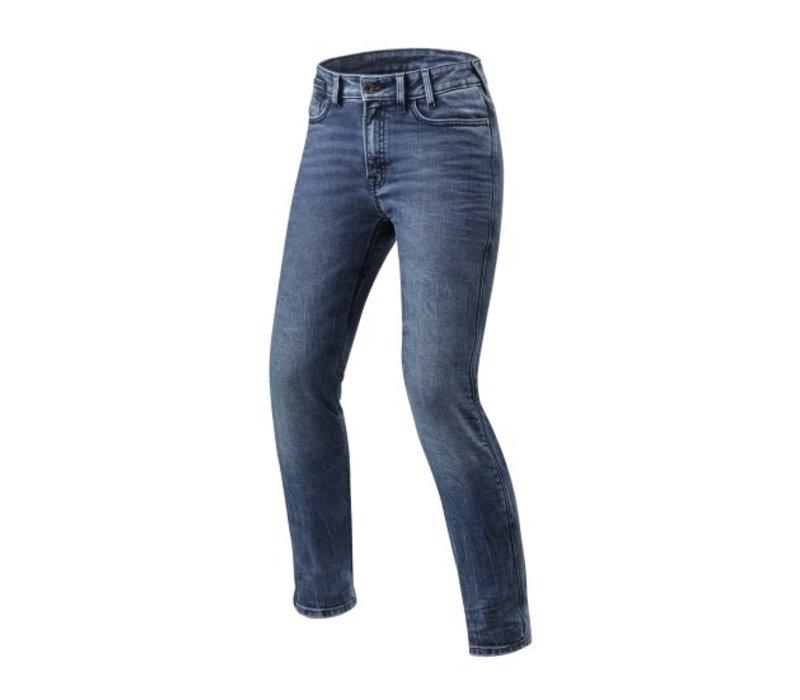 Revit Victoria Ladies SF Jeans Medium Blauw kopen? Gratis Verzending & Retour!