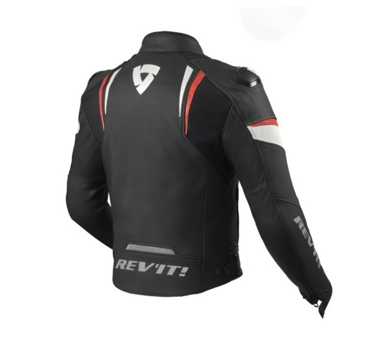 Buy Revit Glide Jacket Black Fluo Red? Free Shipping!
