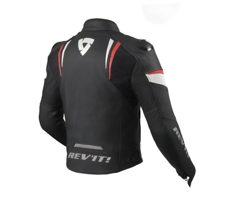 Revit Glide Jas Zwart Fluo Rood kopen? Gratis Verzending & Retour!