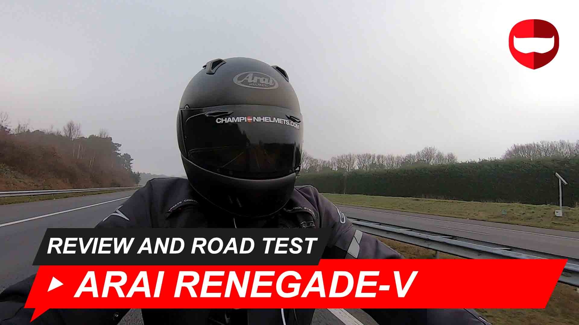 Arai Renegade-V Review and Road Test + Video
