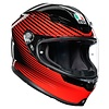 AGV AGV K6 Rush Helm + Gratis Extra Vizier!