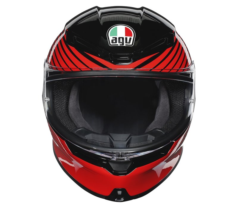AGV K6 Rush Helm + 50% Rabatt auf ein Extra Visier!