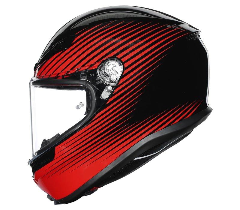 Buy AGV K6 Rush Helmet? Free Additional Visor!