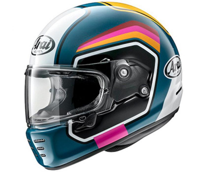 Arai Concept-X Number Blue Helmet + Free Additional Visor!