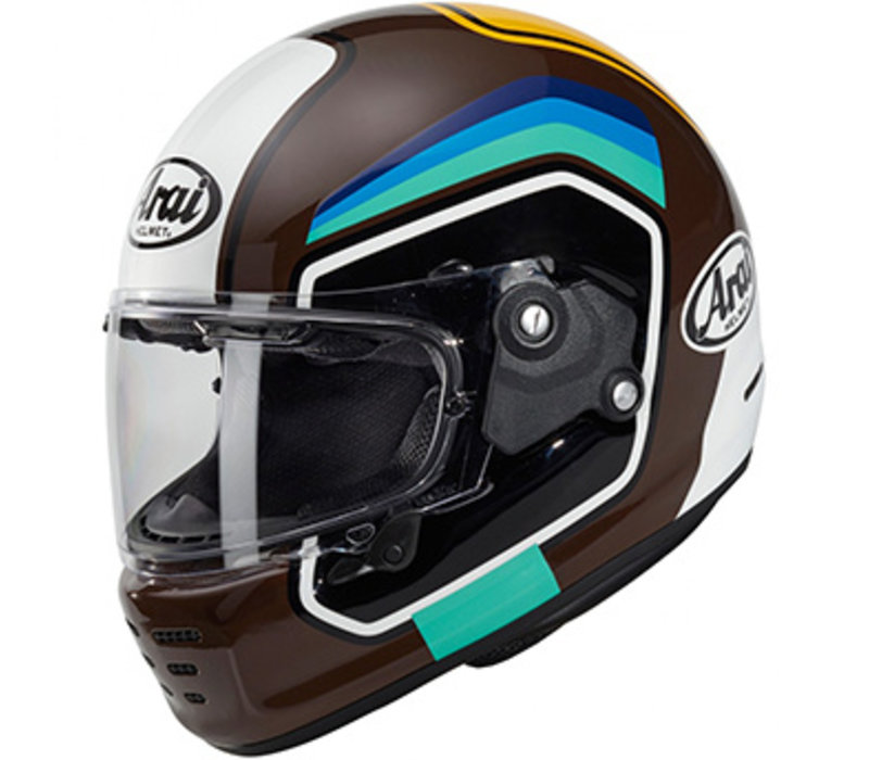 Arai Concept-X Number Brown Helmet + Free Additional Visor!
