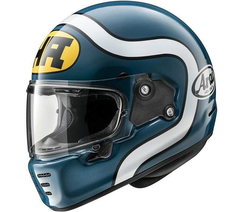 Arai Concept-X HA Blau Helm + Extra Kostenloser Visier!