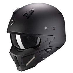 Scorpion Scorpion Covert-X Solid Helm kaufen? Kostenloser Visier!