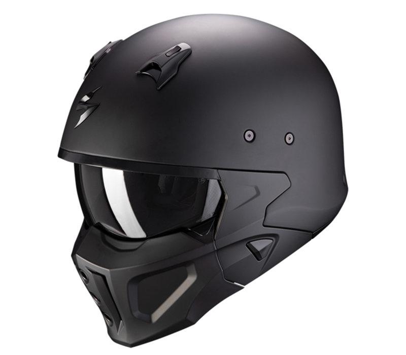 Scorpion Covert-X Solid Helm kaufen? Kostenloser Visier!