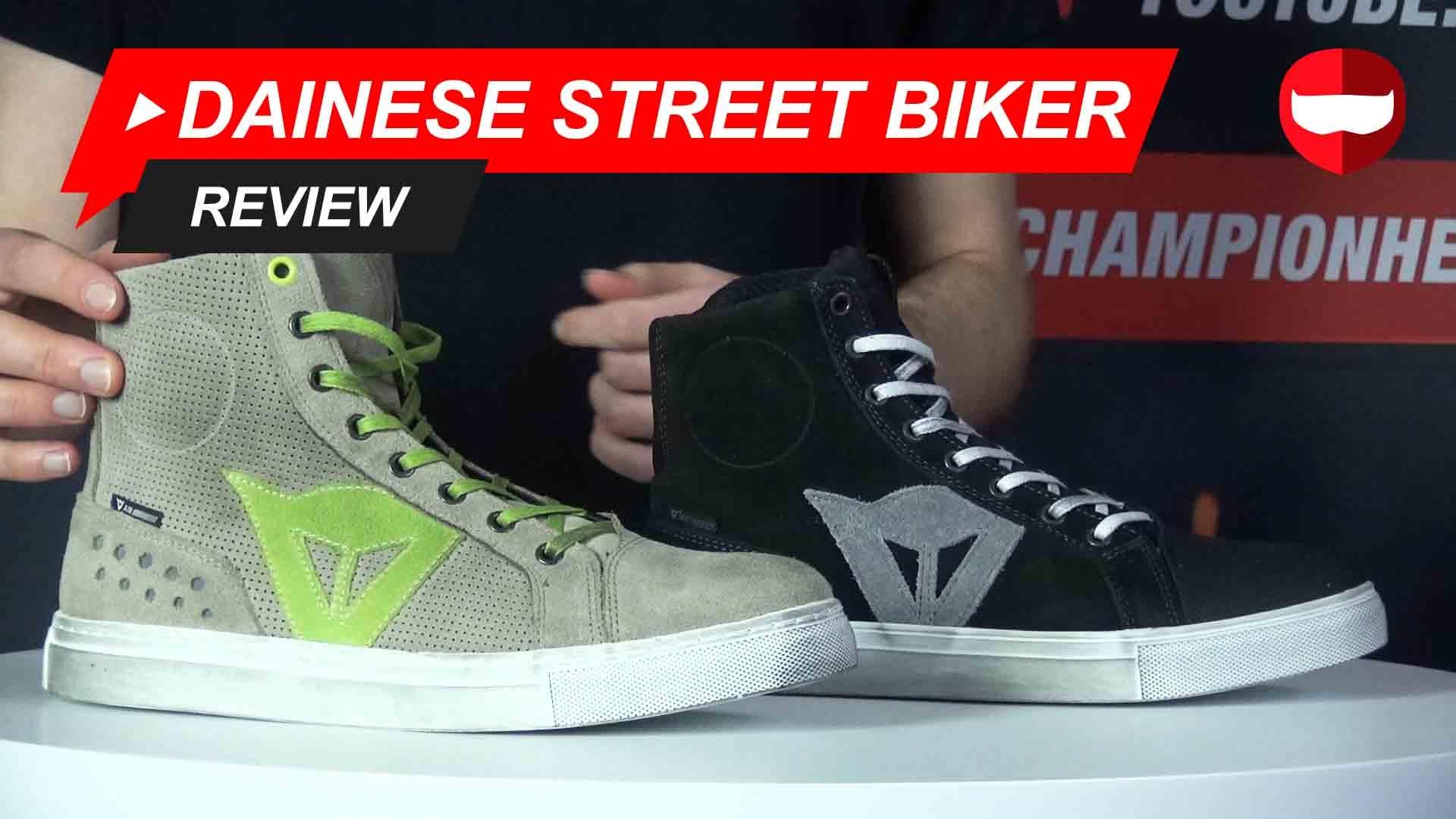 Dainese Street Biker Review + Video