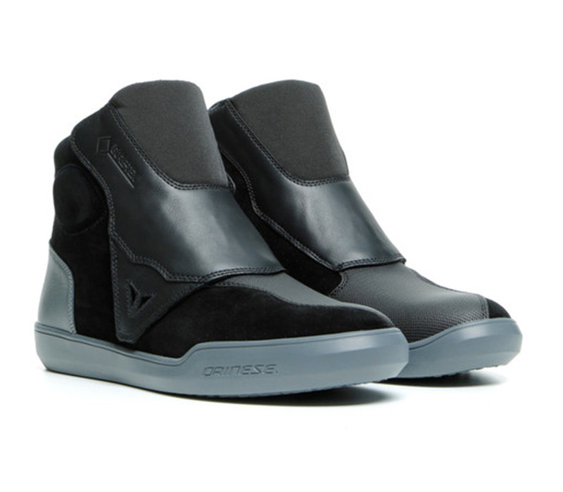Buy Dainese Dover Gore-Tex Black Dark Grey Shoes? 5% Champion Cashback on your Order Value!